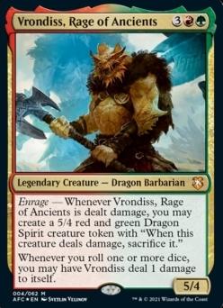 Vrondiss, Rage of Ancients MTG